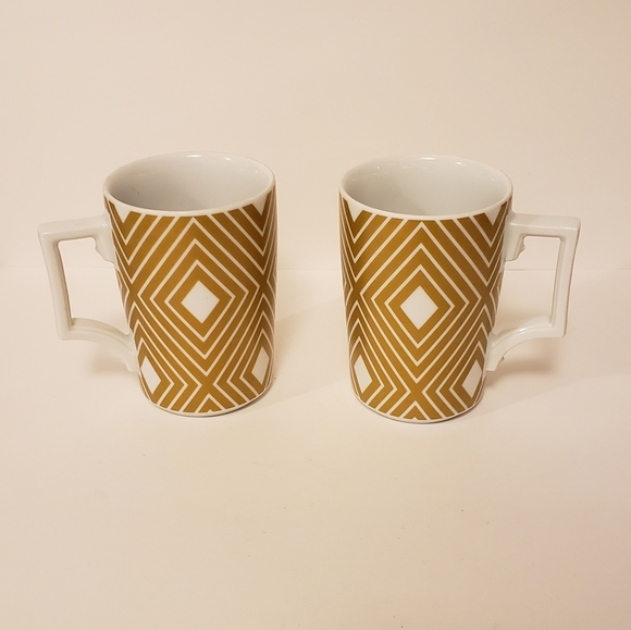 Starbucks by rosanna gold diamond mugs 12oz 2013